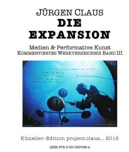 Umschlag der Neuerscheinung DIE EXPANSION von Jürgen Claus